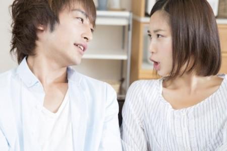 口論をする彼氏と彼女