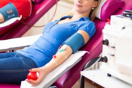赤十字の献血センター