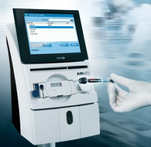 POC向きの血液ガス分析装置